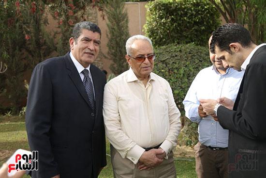 احتفالية حزب الوفد بفوز ابو شقة  (6)