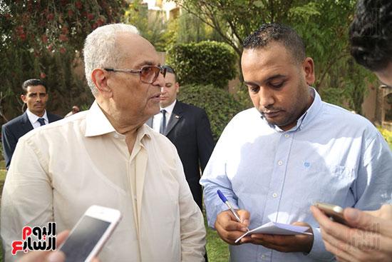 احتفالية حزب الوفد بفوز ابو شقة  (8)