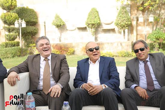 احتفالية حزب الوفد بفوز ابو شقة  (9)