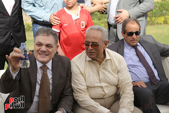 احتفالية حزب الوفد بفوز ابو شقة  (1)