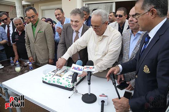 احتفالية حزب الوفد بفوز ابو شقة  (21)