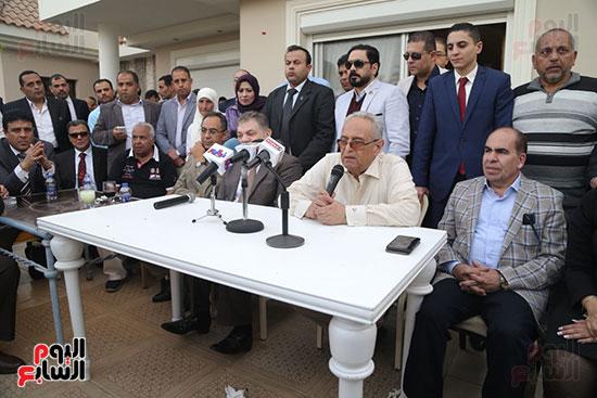 احتفالية حزب الوفد بفوز ابو شقة  (13)