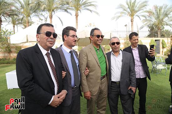 احتفالية حزب الوفد بفوز ابو شقة  (11)
