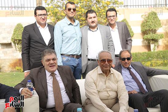 احتفالية حزب الوفد بفوز ابو شقة  (2)