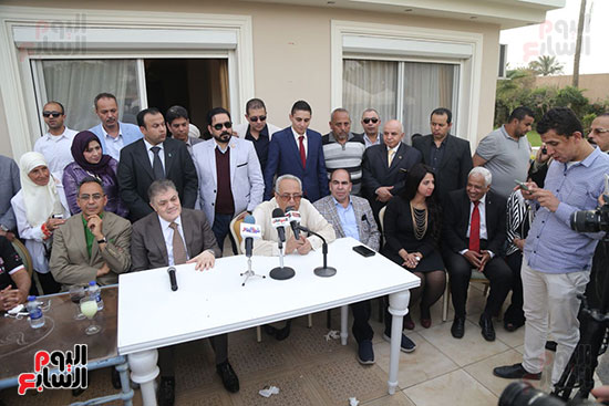 احتفالية حزب الوفد بفوز ابو شقة  (14)