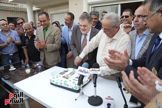 احتفالية حزب الوفد بفوز ابو شقة  (23)