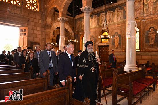 صور البابا تواضروس يستقبل مارسيلو دى سوزا رئيس البرتغال (6)