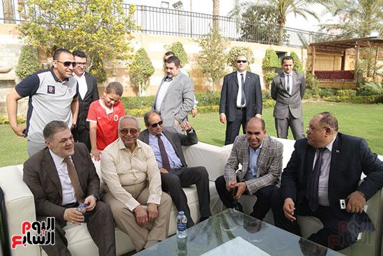 احتفالية حزب الوفد بفوز ابو شقة (3)