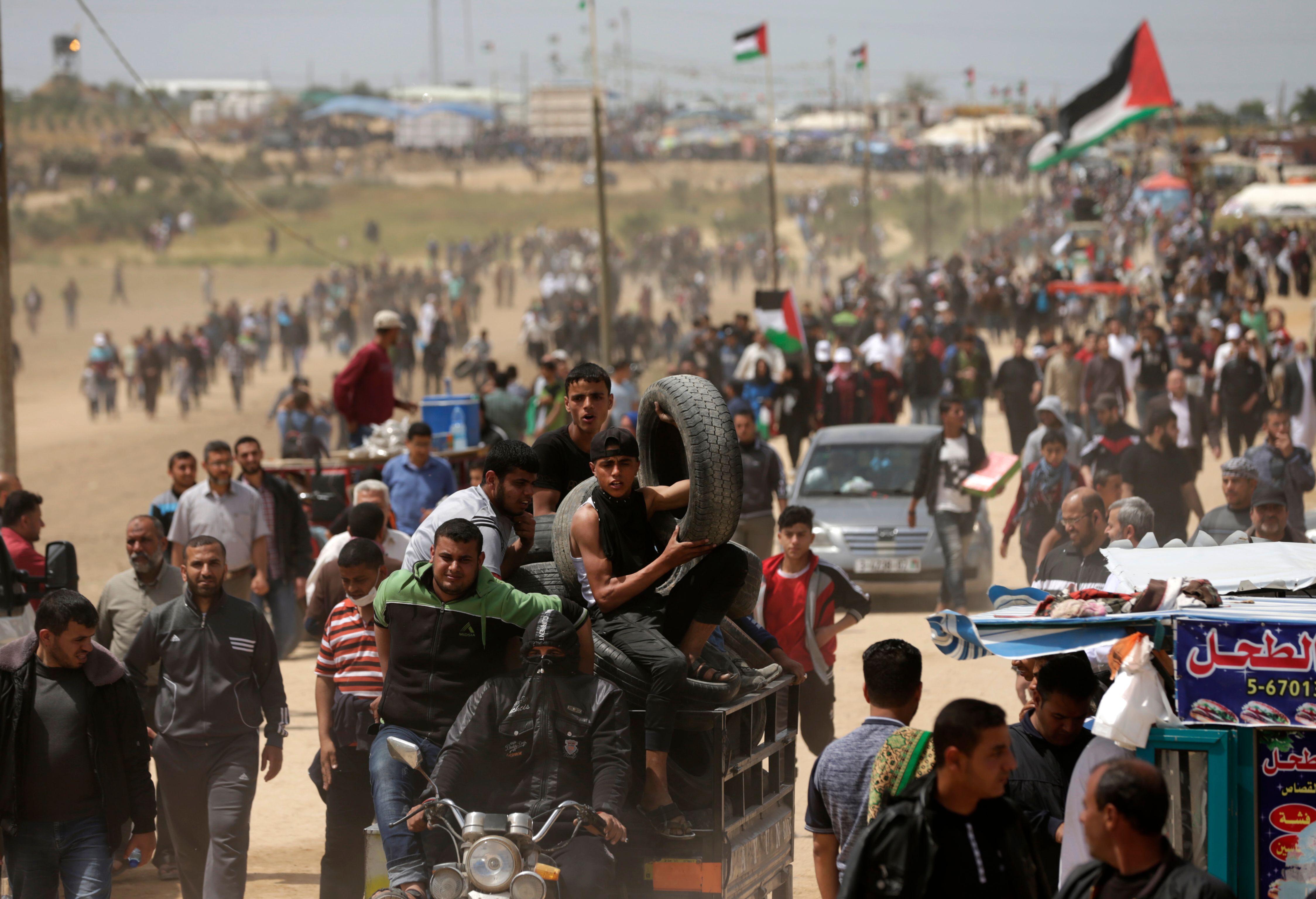 جمعة الأعلام فى فلسطين