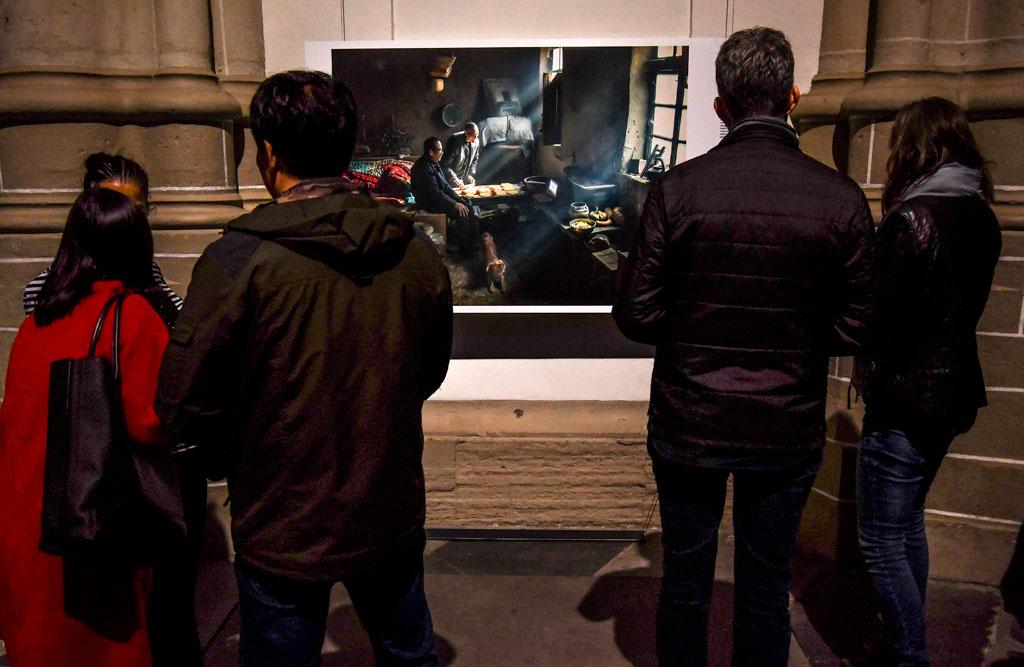 جانب من معرض الصور الصحفية فى أمستردام