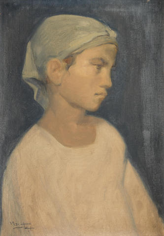 لوحة فتاة القرية