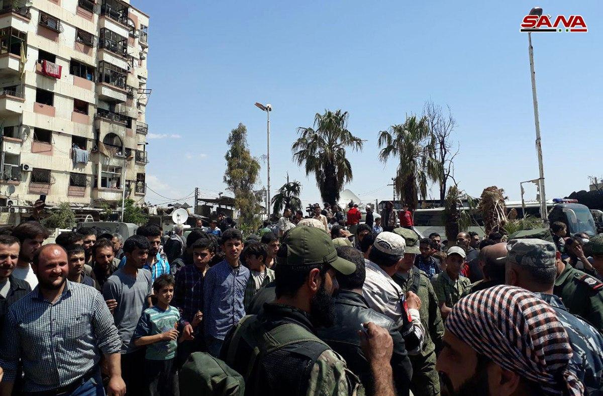 تظاهرات دمشق 3