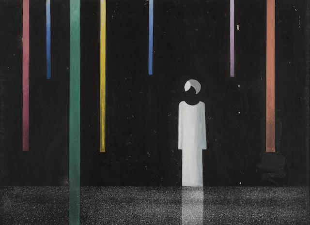 لوحة النوبى لحسين بيكار