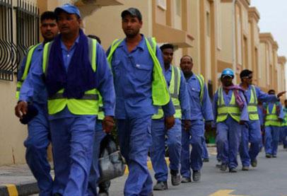العمال اصحاب الياقات الزرقاء