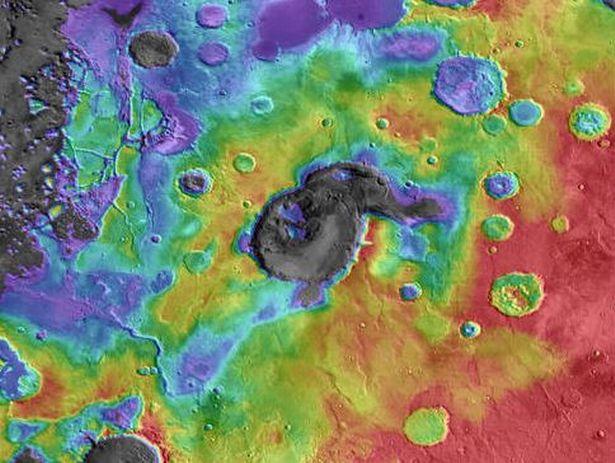 بركان المريخ