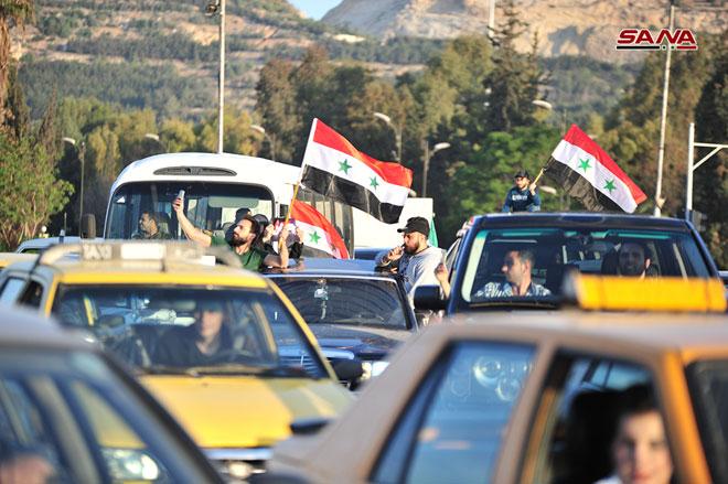 الأعلام السورية