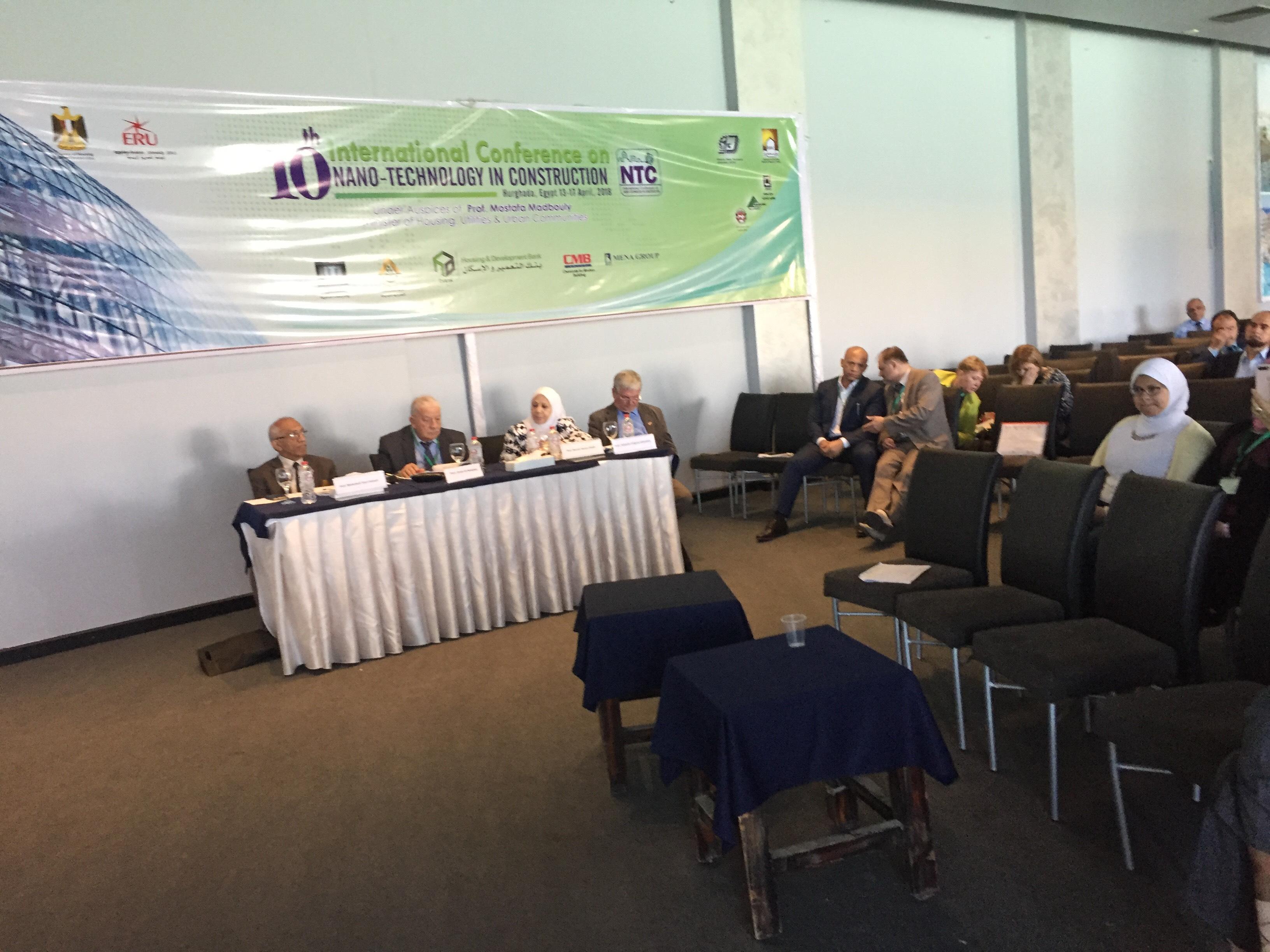 للمؤتمر الدولى العاشر لتكنولوجيا النانو