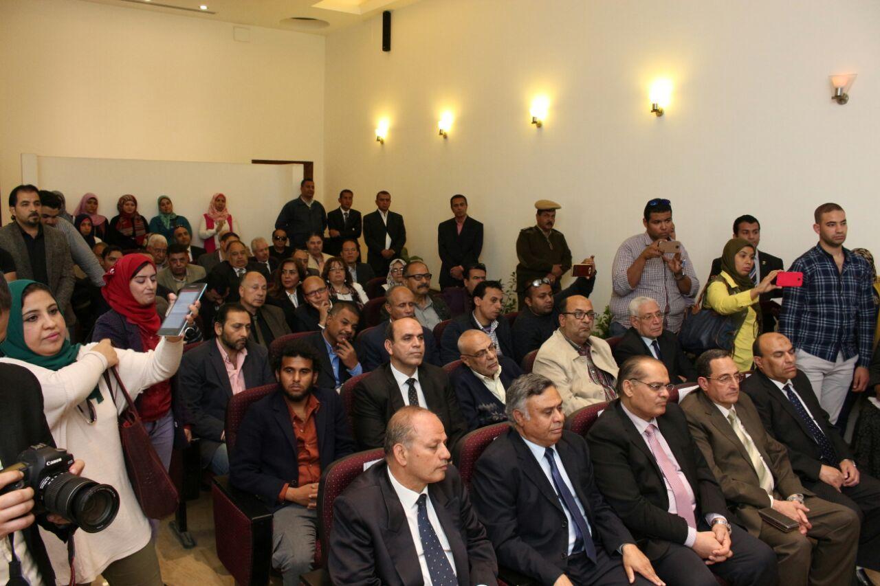 7 جانب من الحضور فى متحف الثورة بالقناطر الخيرية