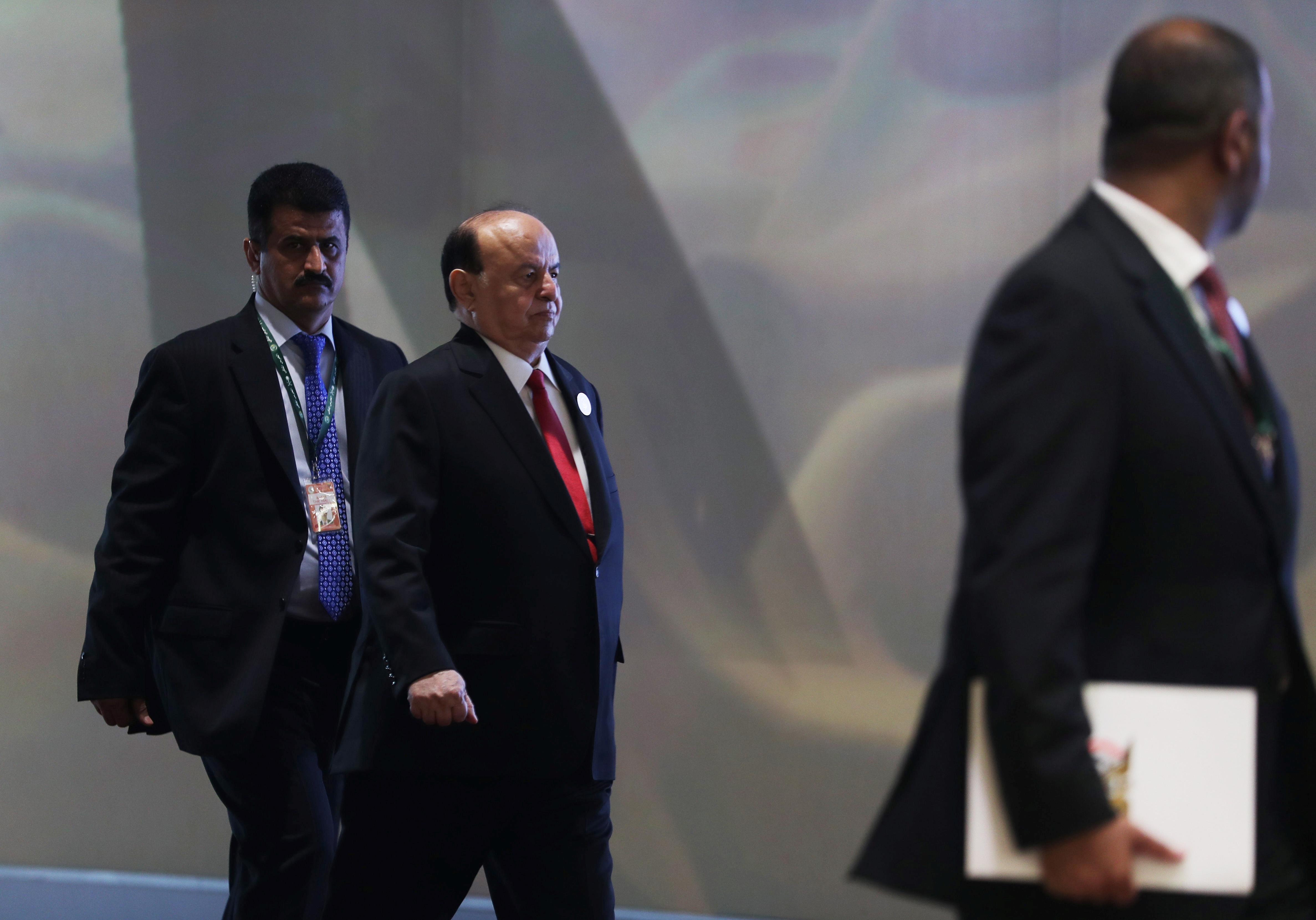 الرئيس اليمنى فى القمة العربية بالسعودية