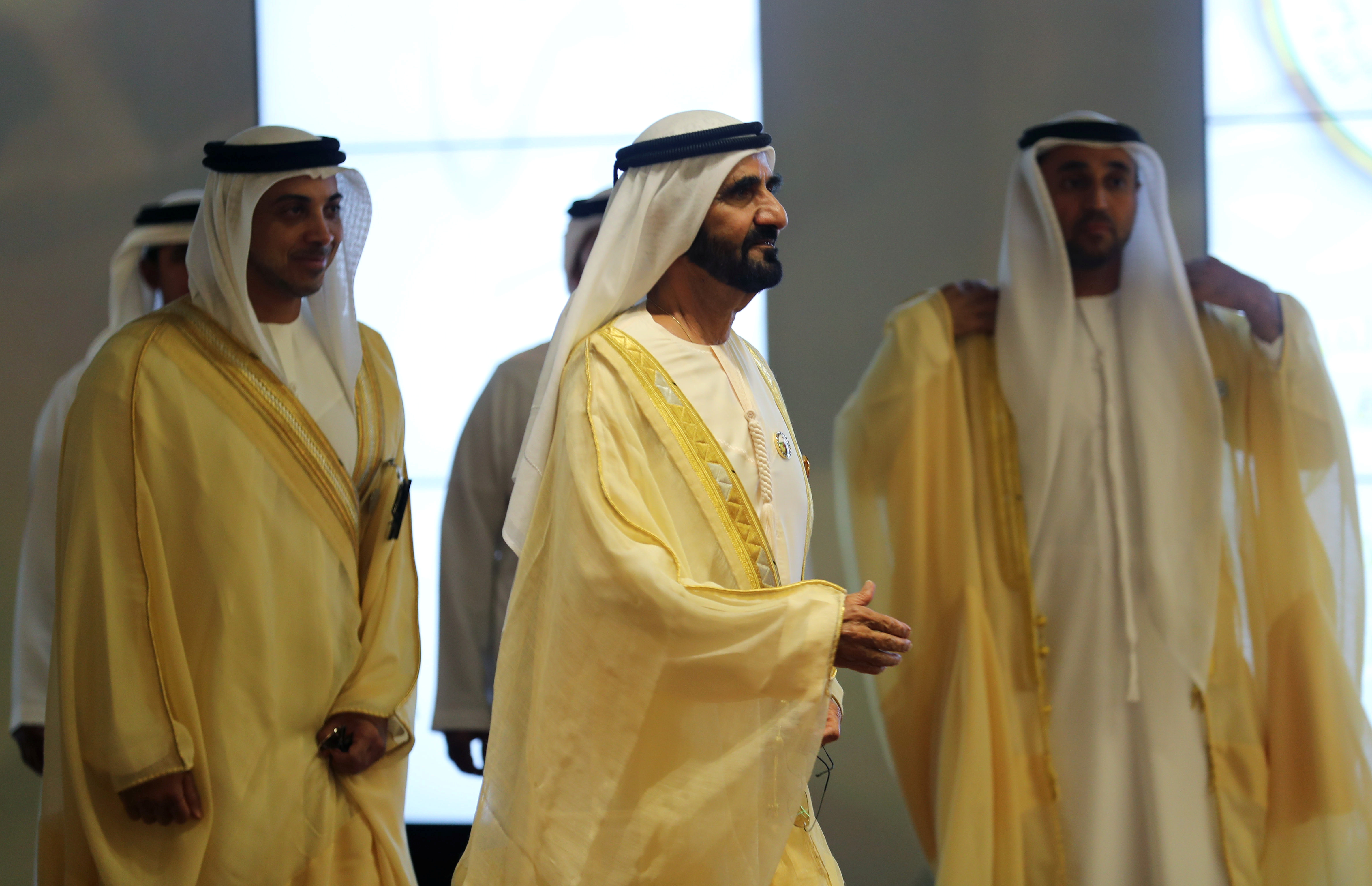 محمد بن راشد آل مكتوم حاكم دبى فى القمة العربية