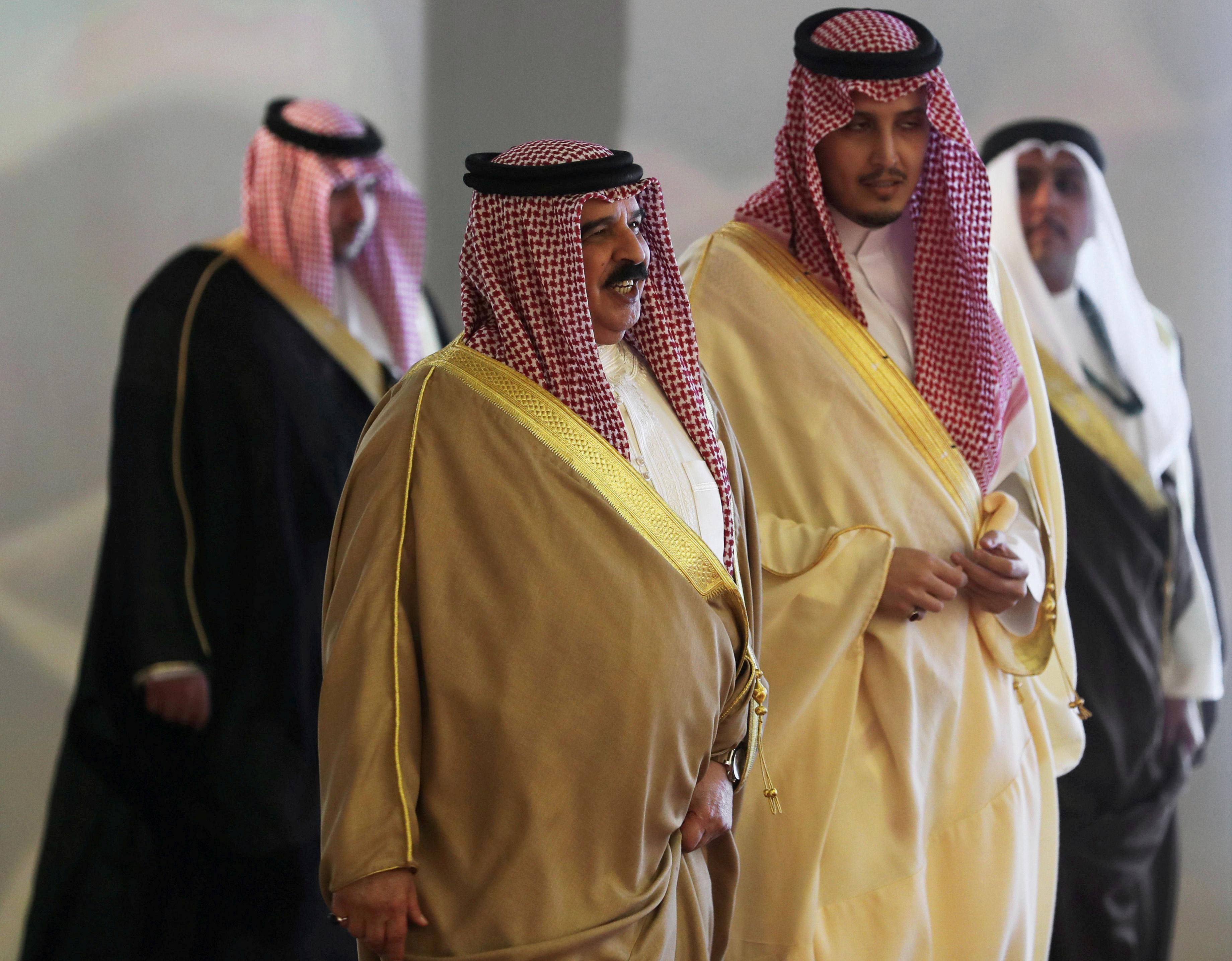 ملك البحرين فى القمة العربية بالسعودية