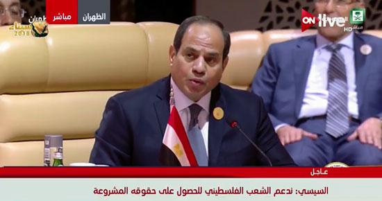 الرئيس السيسى فى القمة العربية بالسعودية