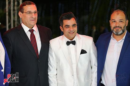 العريس أحمد شلتوت وجانب من الحضور