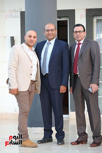 دندراوي الهوارى وعصام الشامى وحسام عادل