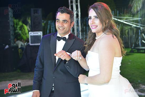 احتفال العروسين