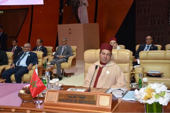 ممثل المملكة المغربية فى القمة العربية بالسعودية