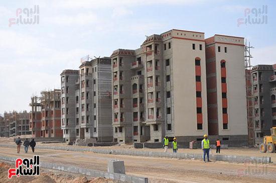 فيلات سكنية وأبراج