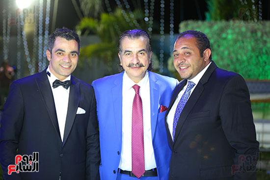عصام شلتوت والعريس أحمد شلتوت
