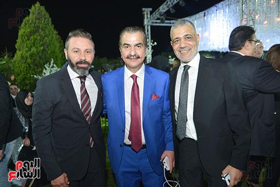 عصام شلتوت و حازم إمام وعماد الغول
