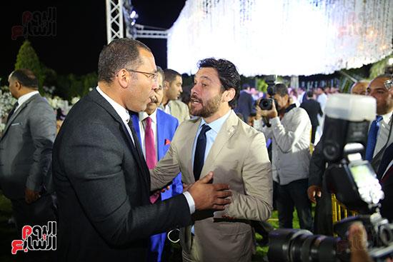 خالد صلاح مع أحمد حسن