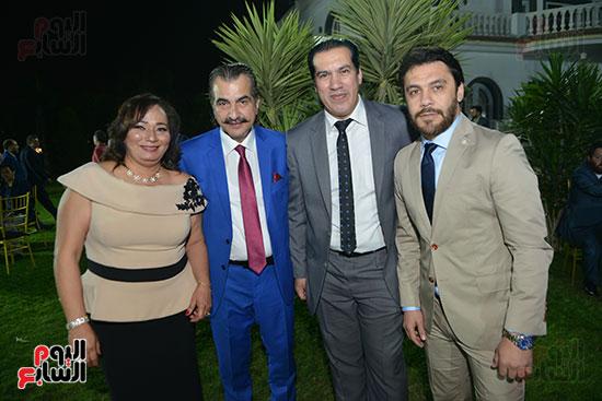عصام شلتوت وحرمه وأحمد حسن وعمر الأيوبى