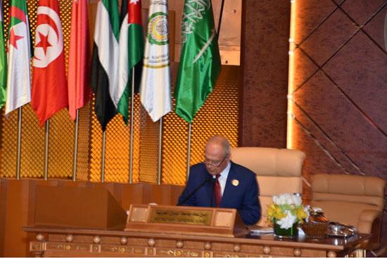 كلمة السفير أحمد أبو الغيط فى القمة العربية بالسعودية