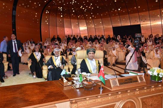 ممثل سلطنة عمان فى القمة العربية بالسعودية