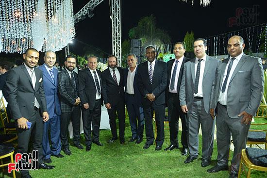 نجوم الرياضة فى زفاف أحمد شلتوت