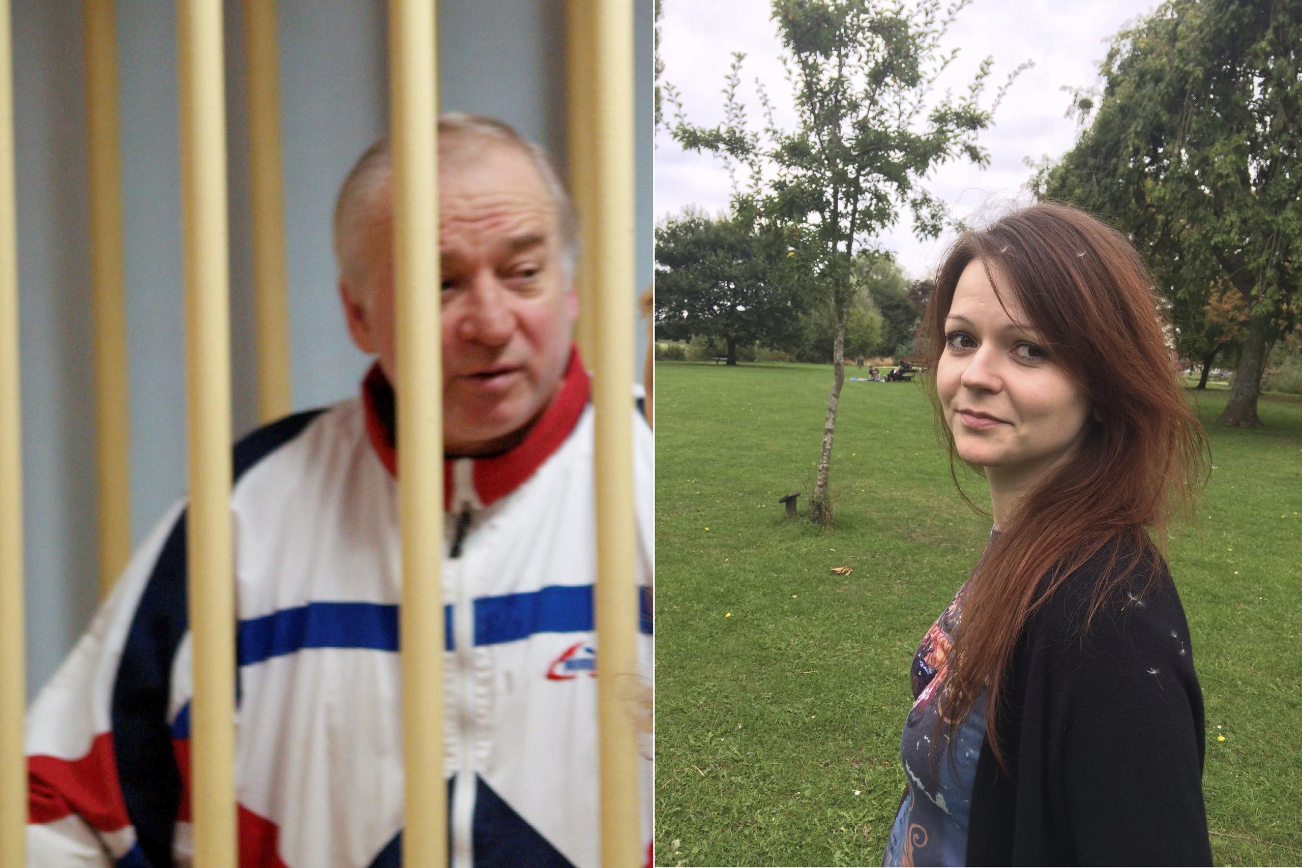 الجاسوس الروسى وابنته محاولة اغتيال بغاز الاعصاب فى وسط لندن