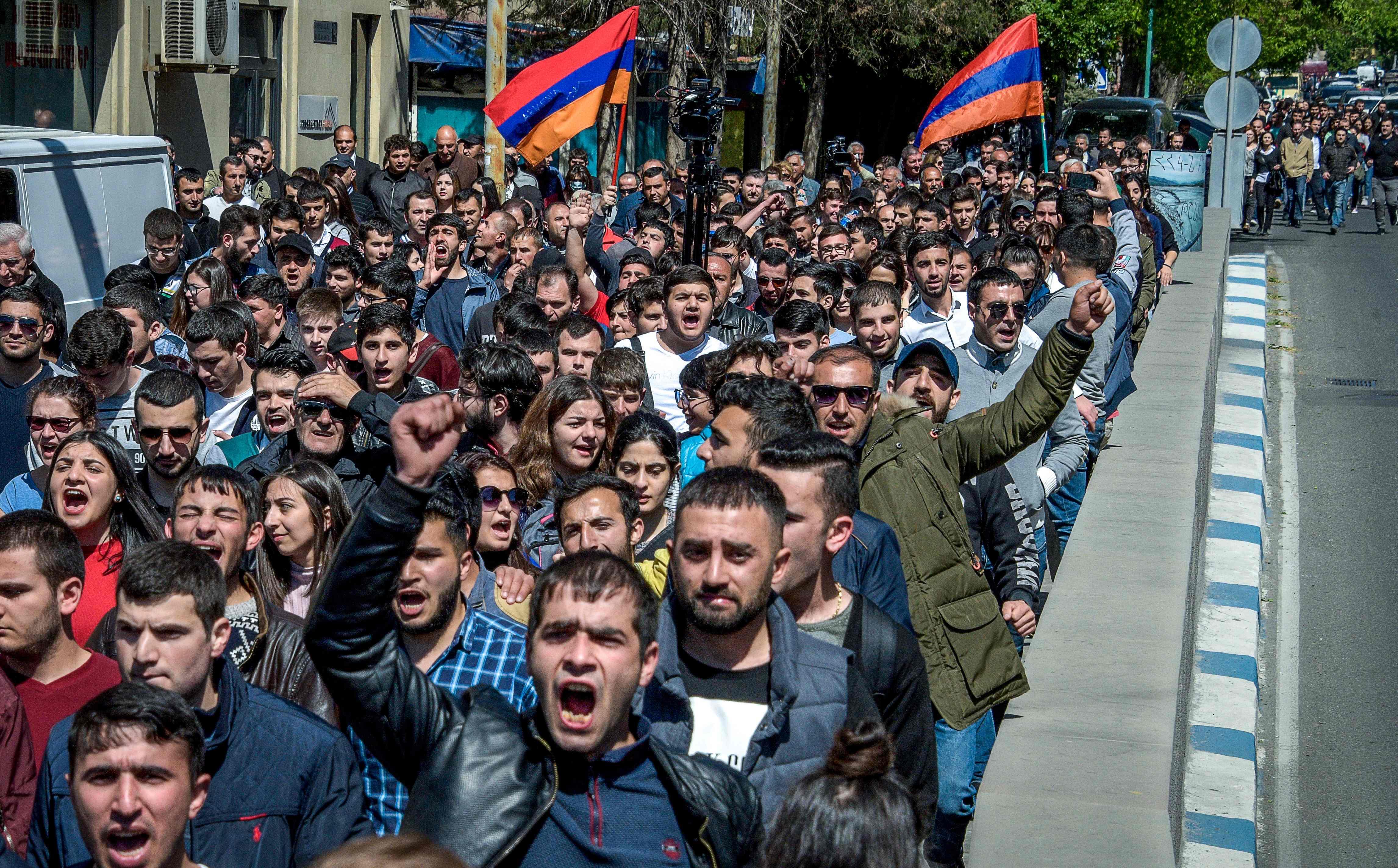 مسيرات فى ارمينيا