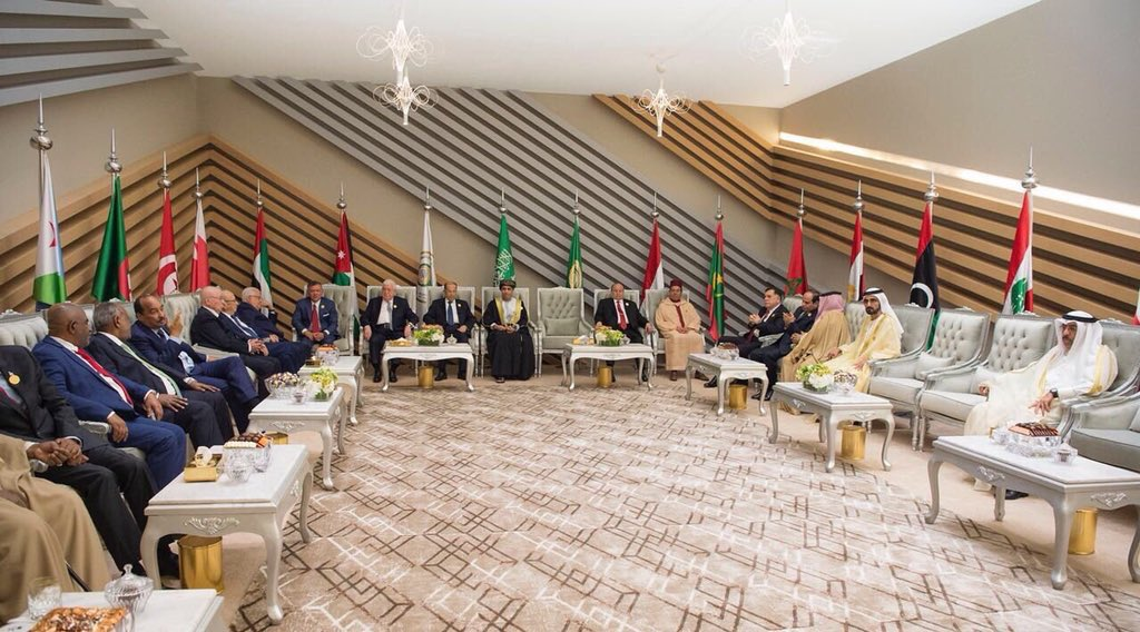 مندوب قطر بالقمة العربية منبوذا