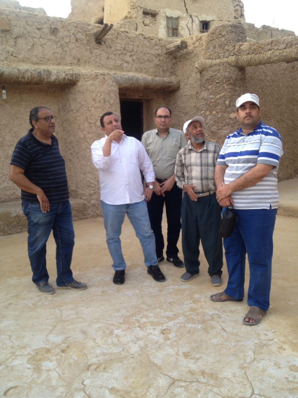 خلال جولة مساعد وزير الآثار بواحة سيوة (2)