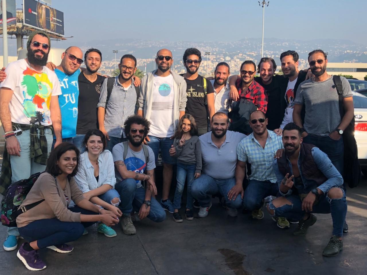 المخرج حسام على وفريق عمل مسلسل الرحلة