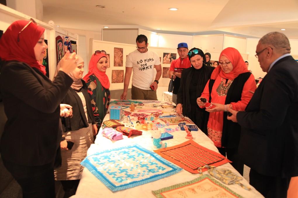 قصور الثقافة تختتم الملتقى الثقافي لشباب جامعة حلوان (3)