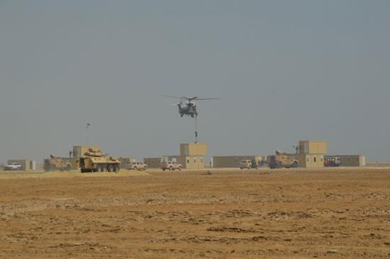صور مناورات درع الخليج (1)