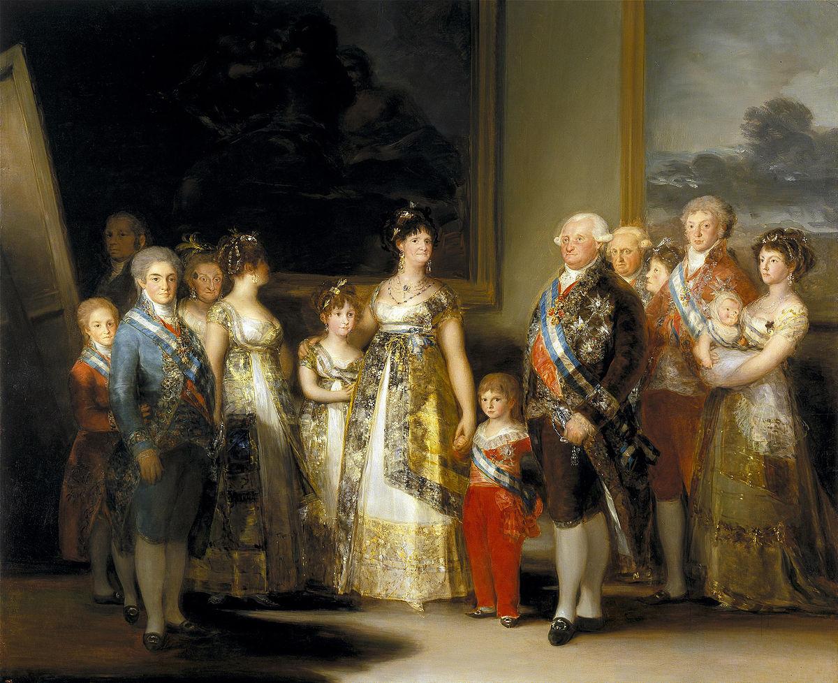 عائلة كارلوس الرابع