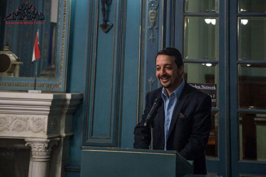 احمد عصمت مدير منتدى الاسكندرية