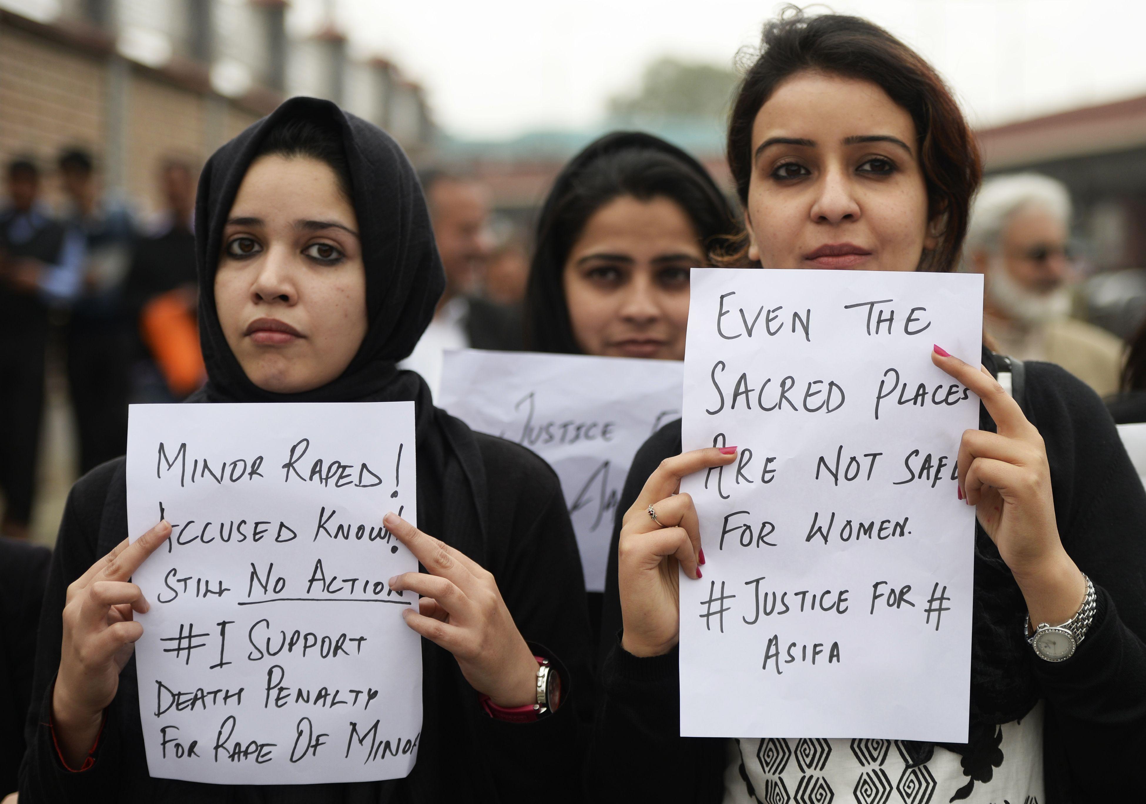 جانب من مظاهرات الهند