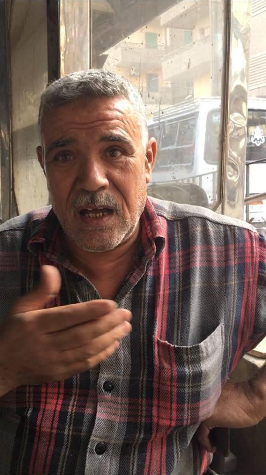 احمد عبد الوراث سائق بموقف البوهى
