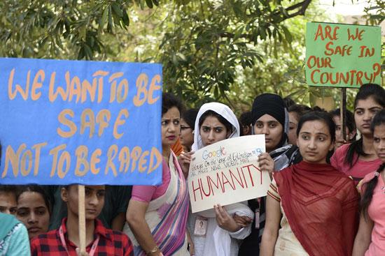 مظاهرات هندية
